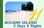 Bulone Island 3 Days 2 Nights